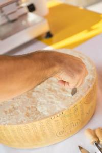 Parmigiano Reggiano da gustare a scaglie