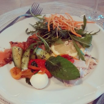 Cena a buffet all'Hotel Lungomare