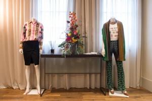 La camicia Versace e la t-shirt Missoni